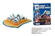Hot sales jigsaw puzzle Sydney Opera House Australia 3D puzzle Educational toys three-dimensional puzzles for children and adult(China)