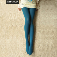Womens Fashion Tights Spring Autumn Stockings  Lake blue femme sexy Pantyhose Thin Tights BA024