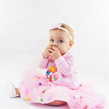 Infant Tutu Baby Girl Skirt Mini Dress Party Ballet Dance Skirt Princess Tulle Ballet Child Baby Skirt Rokjes Newborn Lolita(China)
