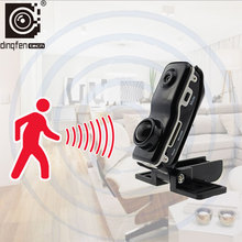Mini Camera DF90 Body Motion Sensor Camcorder Ultra Small Cam Security Monitor DV DVR Video Recorder with Voice