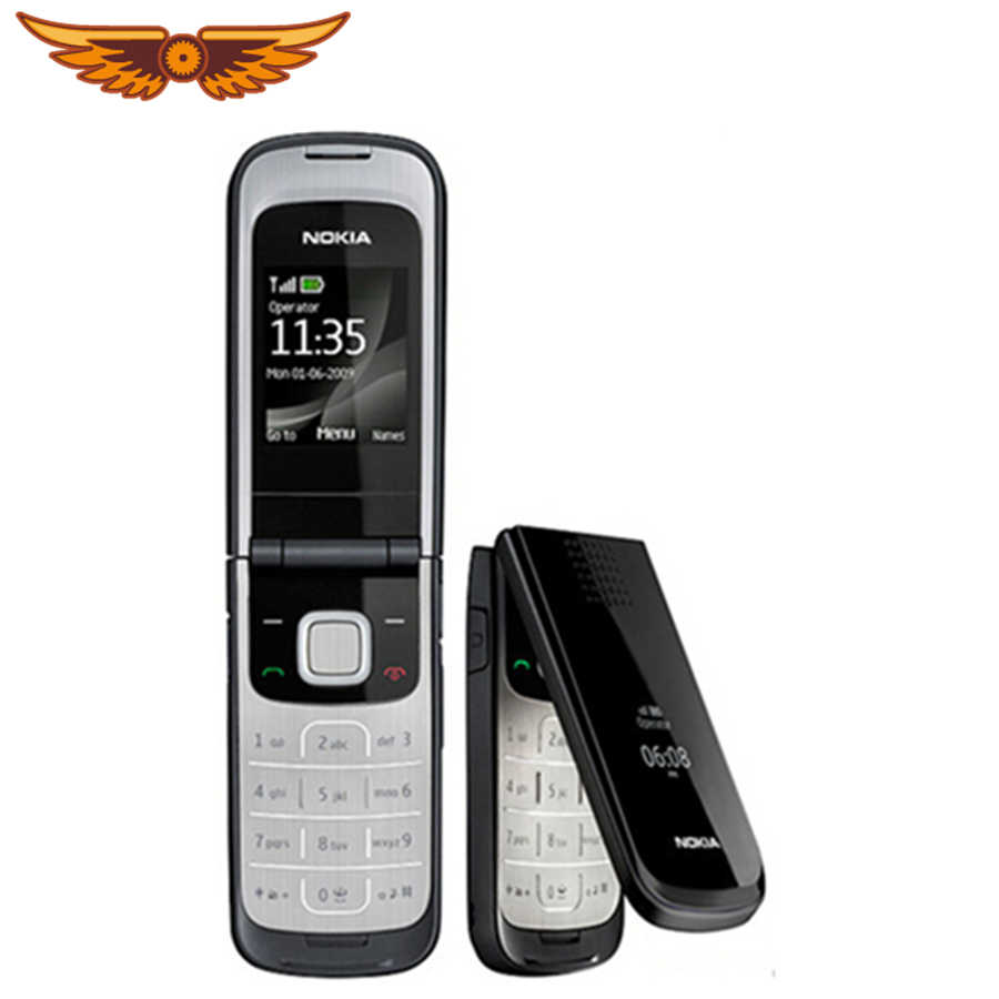 Original 2720 Unlocked Mobile Phone Nokia 2720 Refurbished Cell Phone One  Year Warranty with Russian keyboard