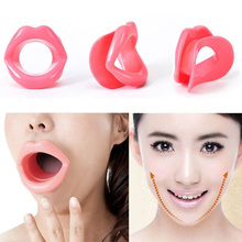 Silicone Rubber Face Slimmer Exercise Mouth Piece facial skin Muscle Lift Massage Anti Wrinkle Hot Popular Random color