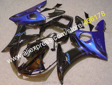 Hot Sales,custom motorcycle fairing for YAMAHA 2005 YZF-R6 05 YZFR6 05 YZF R6 YZF600 Blue Black Fairings (Injection molding)(China)