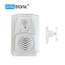 Voice Broadcast Amplifier Wireless PIR Motion Sensor Advertising Voice Player For Show Room