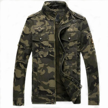 Buy M-4XL Winter Jacket Men Casual Cotton Stand Collar Coats Army Military Outwears men's Male Clothes Overcoat Camouflage Jackets for $44.97 in AliExpress store