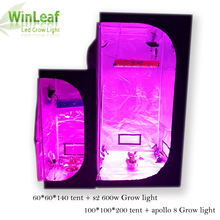 Led Grow Light tent for Plant 400/600/1000/1200w apollo Led Grow 60/100 Greenhouse Hydroponics Plant Growth Light grow leds(China)