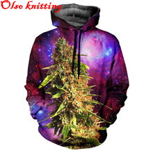 Harajuku women casual sporting Hoodies Sweatshirts 3D printed purple galaxy space flowers jogger Fitness Runs Workout Pullovers