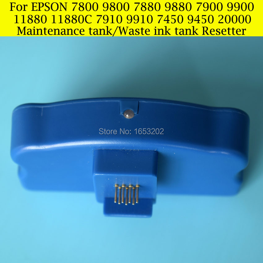1 PC For Epson Maintenance Tank Chip Resetter For Epson 7800 7900 9900 7910 9910 11880 9880 Printer Waste Ink Tank<br><br>Aliexpress