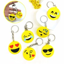 ZOEBER face animal keychains colors people plant  cartoon Keychain little cute yellow heart round Mermaid catton key chain cover