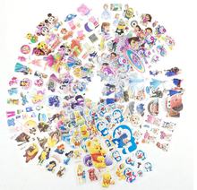 Child gift 1pcs/7*17cm Children Cartoon Bubble Stickers Toy Cute Baby 3d Stereo cartoon Shape Toys Gratefu Sticker Kids love