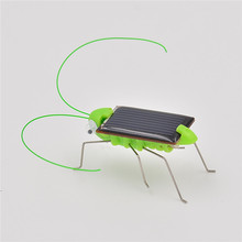 Funny!!! New Arrival Grasshopper Model Solar Toy Children Outside Toy Kids Educational Toy Gifts -wd
