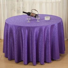 Table Cloth Polyester Jacquard Tablecloths For Wedding  Lace Table Cloth Round Tablecloth Table White Table Cloth