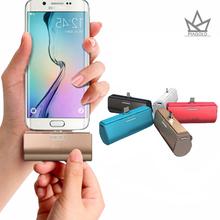 Luxury mini Portable Power Bank 4000mAh Universal Dual USB powerbank 18650 Battery Charger With LCD Screen For iPhones