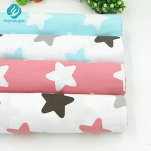 50*160cm Stars Printed Cotton Fabric Meter for Home Textile Baby Quilts Cushions Pillows Sewing Fabric Material Telas Patchwork