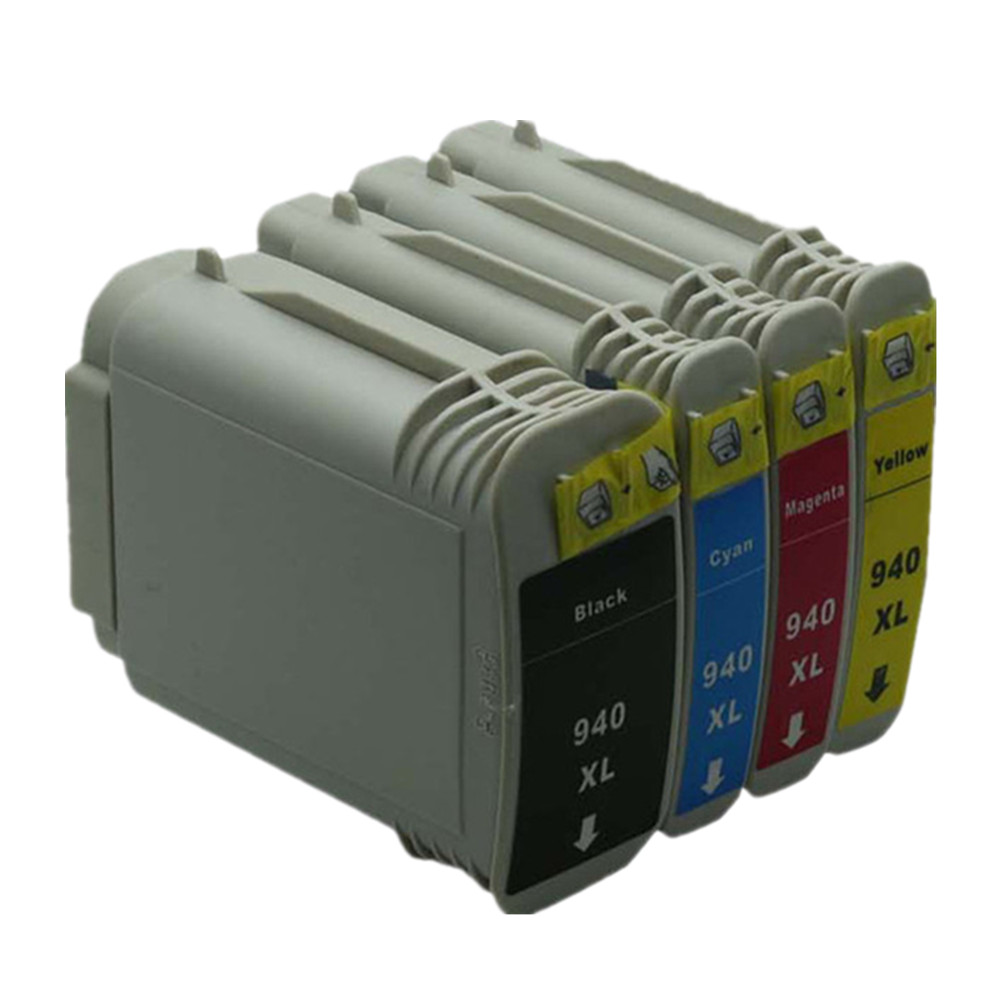 4 pcs 1 set  inkjet  ink cartridge compatible for HP940 HP940XL HP 940 XL 940XL officejet 8000 8500 8500A printer Free Shipping<br><br>Aliexpress