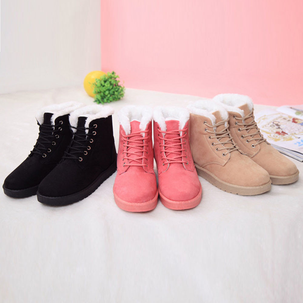 Ulrica 2017 Winter Fashion warm Snow Boots calzado mujer Winter Boots Women feminino Boots Women Ankle Boots Platform Shoes<br><br>Aliexpress