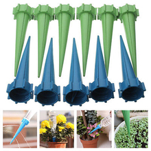 12Pcs Automatic Watering Irrigation Spike High Quality Garden Plant Flower Drip Sprinkler For Plant Watering Tools Random Color