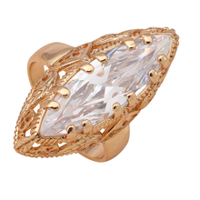 Shining rings High Quality Golden Element  Gold color Wholesale & Retail Fashion Jewelry Ring for women Sz #7#8#9 JR2025A
