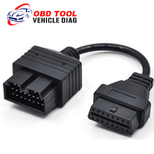 Promotion Price KIA 20 Pin To 16 Pin OBD2 Adaptar Code Reader Car Diagnostic Tool OBD2  20 PIN Cable
