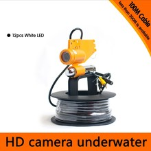 Free Shipping 100Meter Depth Underwater Camera with Single Lead Rode for Fish Finder & Diving Camera Application