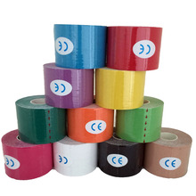 5M*5CM Sports Tape Kinesio Sports Physio Muscle Strain Injury Support Muscles Care Strap Sticker 1pcs. 80g(China)