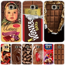 alenka bar wonka chocolate cell phone case cover for Samsung Galaxy A3 A310 A5 A510 A7 A8 A9 2016 2017