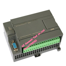PLC industrial control board FX1N 2N 25MR online download monitoring text touch screen power to maintain