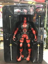 "FIRE TOY Marvel Deadpool PVC Action Figure Collectible Model Toy 10"" 27cm KT1839"