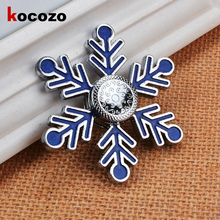 Buy Snowflake Funny Fidget Spinner Fashion Hand Spinner Metal Fingertip Gyro Toy Anti Stress Relief Finger Spinners EDC Sensory for $13.86 in AliExpress store