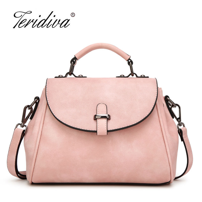 Teridiva 2017 New Fashion Woman Shoulder Bags Famous Brand Luxury Handbags Women Bags Designer High Quality Women Leather Purse<br>