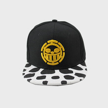 2017 new Anime ONE PIECE Baseball Caps Trafalgar Law cartoon tonari black sun hat CA251(China)