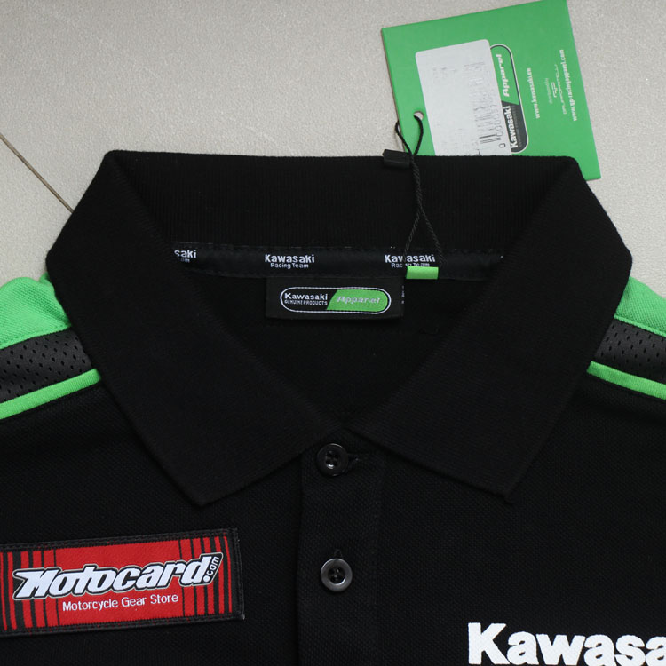 Free-Shipping-MotoGP-Team-Green-POLO-T-shirt-motorcycle-Casual-Polo-shirt-Fit-for--Racing