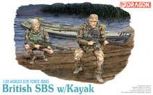 1/35 scale model Dragon 3023 British Royal Marine Corps Special Sailor Squadron and Canoeing(China)