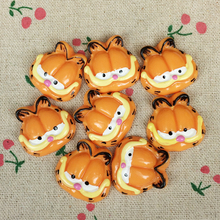 Buy 10Pieces Kawaii Flat Back Resin Cabochon Cartoon Cat DIY Flatback Scrapbooking Accessories Embellishment Decoration Craft:27mm for $2.46 in AliExpress store