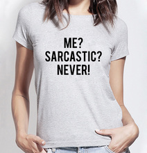 Buy 2016 Sarcastic Never funny tshirt Women summer Casual shirts Lady fashion brand harajuku female t-shirt kawaii punk tops for $4.37 in AliExpress store