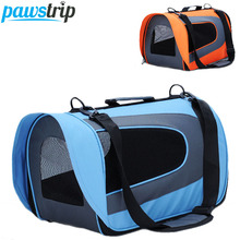4 Colors Soft-Sided Pet Carriers Bag Waterproof Oxford Small Dog Travel Bag 45*23*25cm