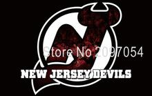 Flag NHL New Jersey Devils Flag 3x5 FT 150X90CM Banner 100D Polyester flag 1127, free shipping