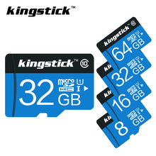 Kingstick Micro SD Card 32 GB 64GB 16GB 8GB class 10 Memory card 4GB microsd class6 TF card for smartphone