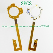 2PCS/ NEW Shutter Flex Cable For KODAK M550 Digital Camera Repair Part