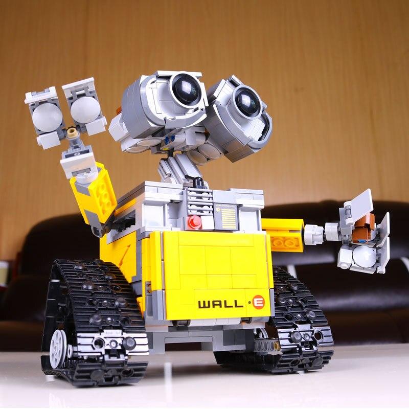 2017 Lepin Idea Robot WALL E Lepin 16003 Building Blocks Set Bricks Blocks 21303 Toys For Children New Lepin Ninjago<br><br>Aliexpress
