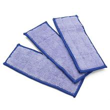 Washable 3pcs/Lot Microfiber wet Dweeping sweeping Pad mopping pads cloth for iRobot Braava Jet 240 241 244 parts replacement
