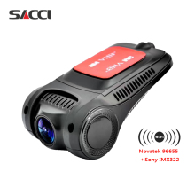 Sacci R3 Dash Cam  Novate96655 Sony IMX322 WiFi 1080P Car DVR Registrator Video Recorder auto camera Dashcam Hidden mini camera