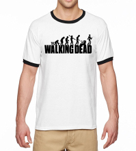 The Walking Dead Ringer t-Shirt Men 2017 Summer Hot Sale 100% Cotton High Quality Men t Shirts Hip Hop Style Camisetas Hombre