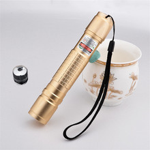 JSHFEI  200mW focusable green laser flashlight laser torch with star heads WHOLESALE LAZER waterproof