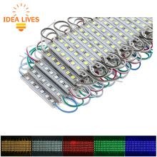 LED Module 5050 6 LED DC12V Waterproof Advertisement Design LED Modules Super Bright Lighting 20PCS/Lot