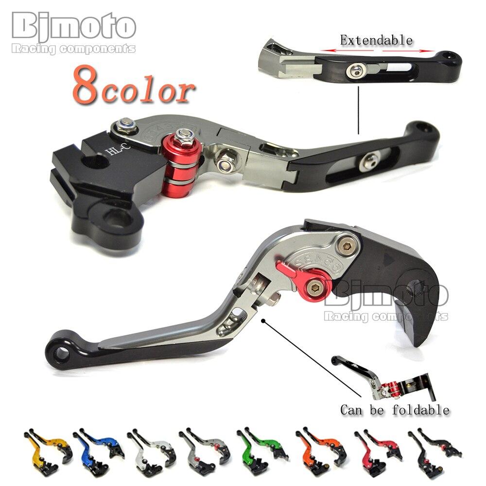 CNC Adjustable Foldable Extendable Motorcycle Brake Clutch Levers For Aprilia DORSODURO 750/900 TUONO V4 1100RR/Factory SHIVER <br>