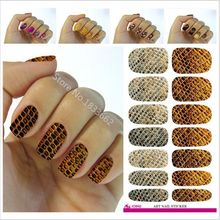2017 Sale Manicure V642 New Fashion Water Transfer Foil Nail Stickers All Kinds Of Art Design Patterns Decorative Decal