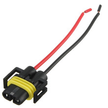 H8 H11 Female Adapter Wiring Harness Socket Car Auto Wire Connector Cable Plug For HID LED Headlight Fog Light Lamp Bulb(China)
