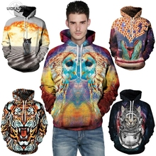 3d owl/tiger/cat/dinosaur Hoodie All Over Print Hoody Sweatshirts Men Women Warm Coat Hooded Outerwear Clothing 2016 Brand