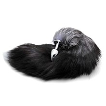 Plug Stainless Steel Faux Fox Tail Stopper Gift Valentine's Day Gift Surprise(China)